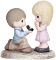 Precious Moments 133022 Boy Proposing To Girl Figurine