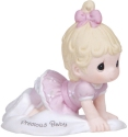 Precious Moments 133023D Red Haired Baby Girl Crawling Figurine