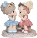 Precious Moments 134016 Two Girls Sharing Secrets Figurine