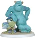 Precious Moments 134706 Disney Sully Leaning on Mike Figurine