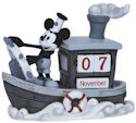 Precious Moments 144707 Disney Steamboat Mickey Calendar