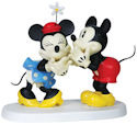 Precious Moments 151702 Disney Pie eye Minnie and Mickey Figurine