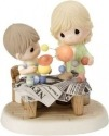 Precious Moments 152019 Mom and Son Building Solar System Figurine