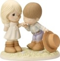 Precious Moments 163004 Country Couple Figurine