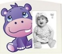 Precious Moments 163449 Precious Paws Hippo Photo Frame