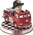 Precious Moments 164434 Disney Car Collection #4 Red Figurine