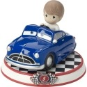 Precious Moments 164435 Disney Car Collection #5 Doc Hudson Figurine