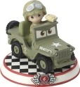 Precious Moments 164436 Disney Car Collection #6 Sarge Figurine
