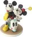 Precious Moments 164702 Disney Mickey and Minnie on Scooter Figurine