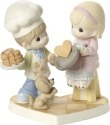 Precious Moments 171034 Couple Making Pancakes Figurine
