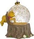 Precious Moments 171708 Disney Winnie The Pooh In Tree Stump Waterball