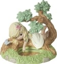 Precious Moments 172011 Girl In Tree Looking In Mirror Figurine