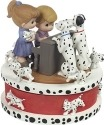 Precious Moments 172058 Disney 101 Dalmatians LED Rotating Musical