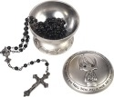Precious Moments 172410 Boy Communion Covered Box with Rosary Set of 2
