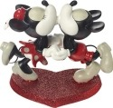 Precious Moments 172721 Disney Mickey and Minnie Kissing Figurine