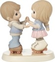 Precious Moments 179020 Roller Skating Couple Figurine