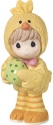 Precious Moments 179022 Boy In Chick Costume with Easter Egg Figurine