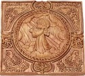 Precious Moments 179105 Praying Angel with Hands Up Plaque