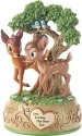 Precious Moments 179710 Disney Bambi and Faline Musical