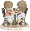 Precious Moments 181040 Couple at Cafe Table Figurine