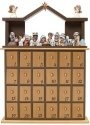 Special Sale 181402 Precious Moments 181402 Nativity 26 Advent Calendar Set of 26