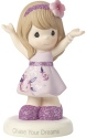 Precious Moments 182003 Girl In Floral Dress Figurine