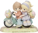 Precious Moments 182009 Girl and Boy on Bicycle Figurine
