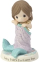 Precious Moments 182011 Girl In Mermaid Blanket Figurine