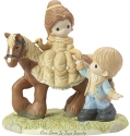 Precious Moments 182091 Ltd Ed Belle and Prince Philippe Figurine