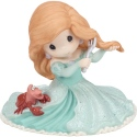 Precious Moments 182092 Disney Ariel with Sebastian Figurine