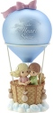 Precious Moments 182406 Boy and Girl In Hot Air Balloon Musical