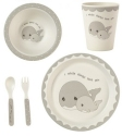 Precious Moments 182417 Mealtime Whale Gift Set Set of 5