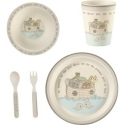 Precious Moments 182433 Mealtime Noah's Ark Gift Set Set of 5