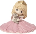 Precious Moments 183074 Disney Aurora with Bunny Figurine