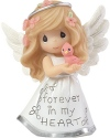 Precious Moments 183428 Angel Forever In My Heart Figurine