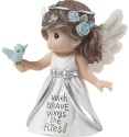 Precious Moments 183439 Angel with Brave Wings She Flies Figurine