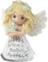 Precious Moments 183440 Angel Believe In Possibility Figurine