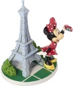 Precious Moments 183702 Disney Minnie By Eiffel Tower Figurine