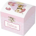 Precious Moments 185095 Ballerina Musical Jewelry Box