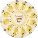 Precious Moments 189015 Deviled Angeled Egg Platter