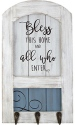 Precious Moments 189915 Bless This Home Plaque with Hooks