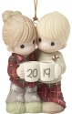 Precious Moments 191004 Dated 2019 Couple Ornament