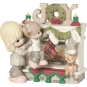 Precious Moments 191028 Mom and Daughter Hanging Stockings Figurine