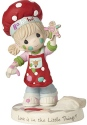 Precious Moments 191030 Girl Holding Gingerbread Cookie Figurine