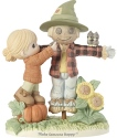 Precious Moments 191035 Girl with Scarecrow Figurine