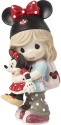 Precious Moments 191063 Disney Girl Fan Figurine