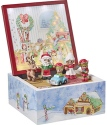 Precious Moments 191106 Santa's Workshop Heirloom Musical Set of 6