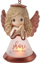 Precious Moments 191433 Share Blessings Angel LED Ornament