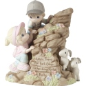 Precious Moments 192008 Ltd Ed Couple Climbing Mountain Figurine