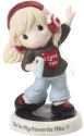 Precious Moments 192009 Girl Listening To Music Figurine